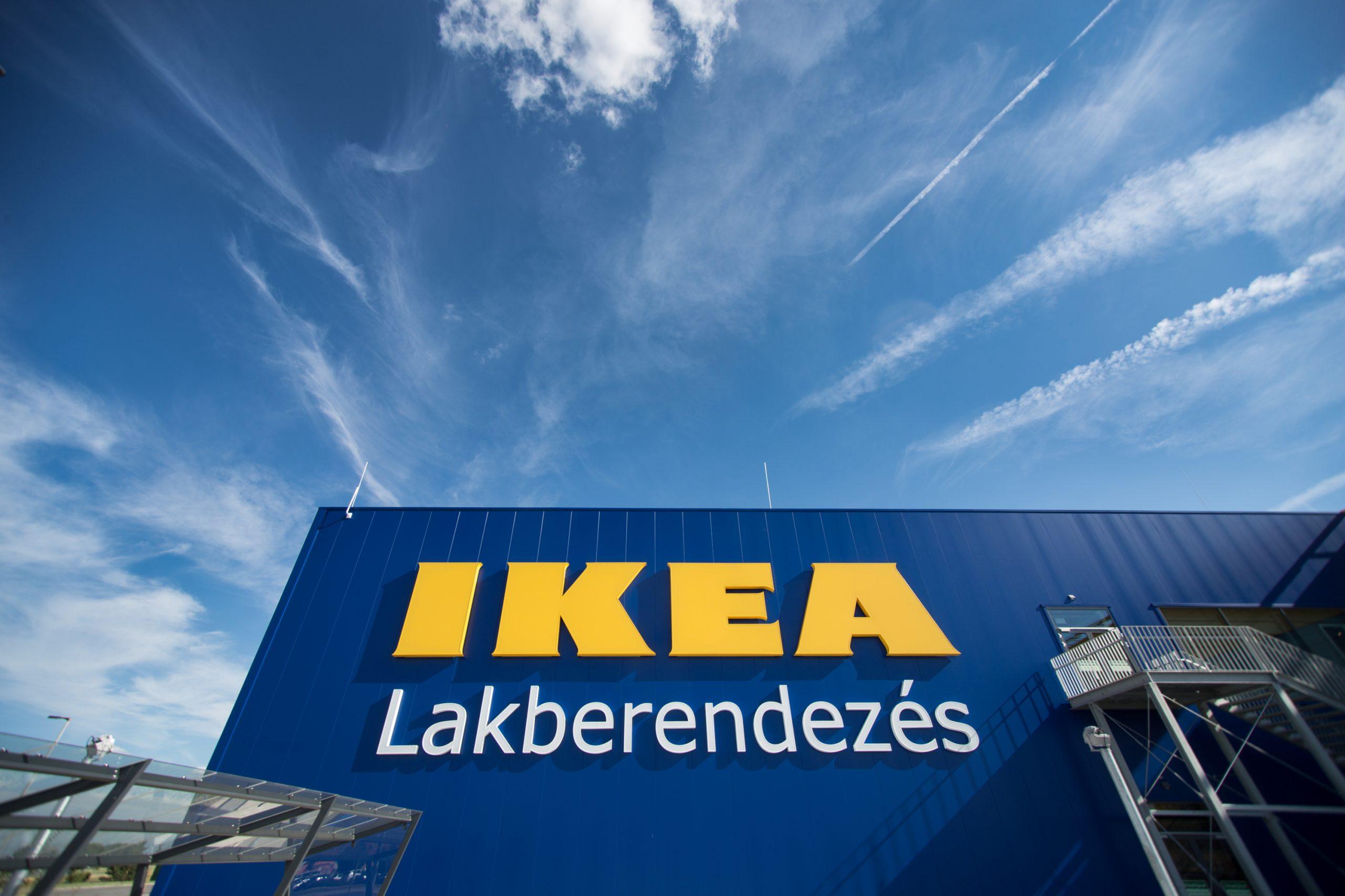 Az IKEA épülete