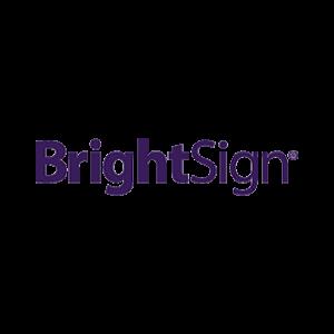 Brightsign logo colored