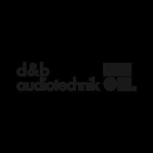 d&b audiotechnik logo