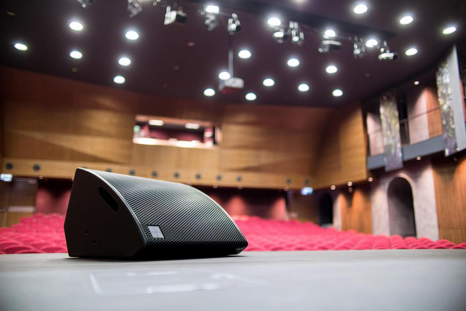 A Batthyány-Strattmann Kastély színpadi hangsugárzója