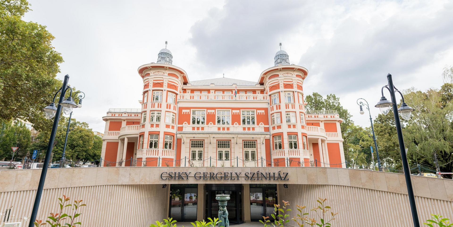 A Csíky Gergely Színház épülete