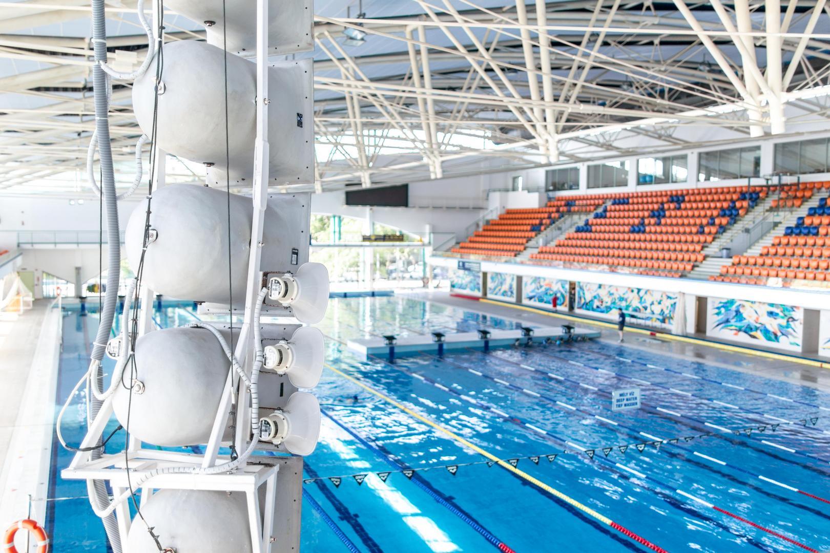 A Debreceni Sportuszoda hangosítási rendszere