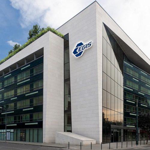 Az EGIS Telephelyi Tűzoltóság épülete