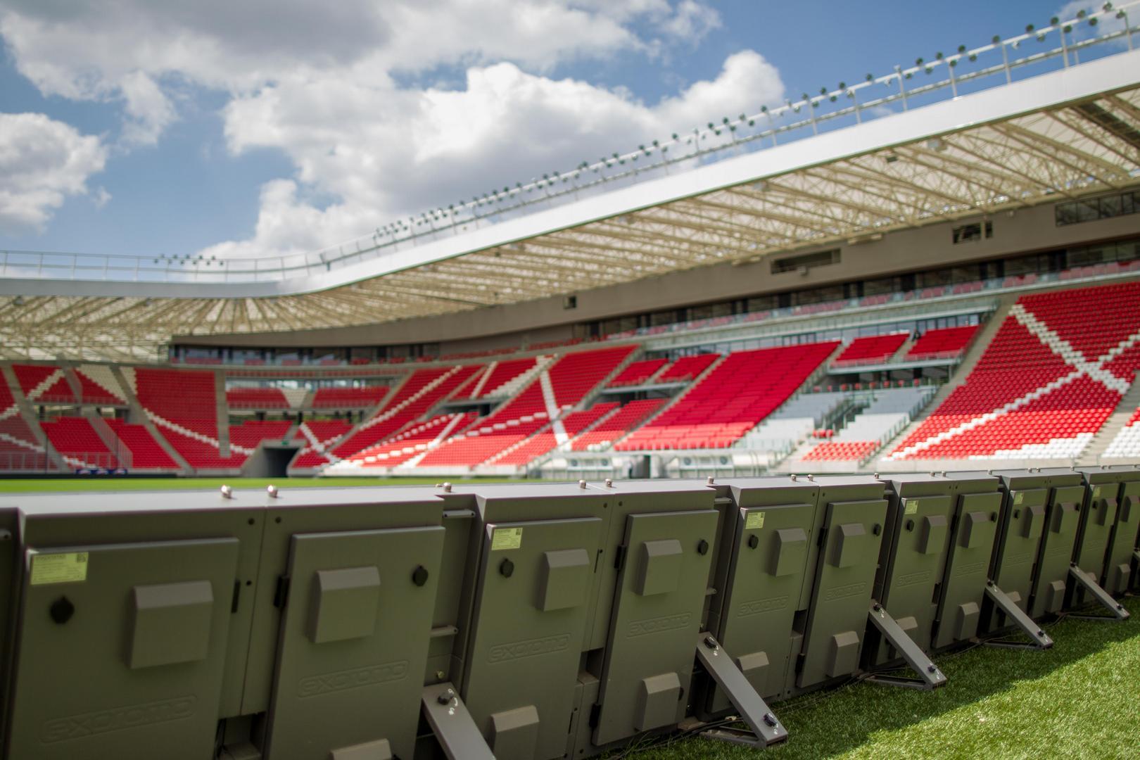 A Nagyerdei Stadion LED megjelenítői