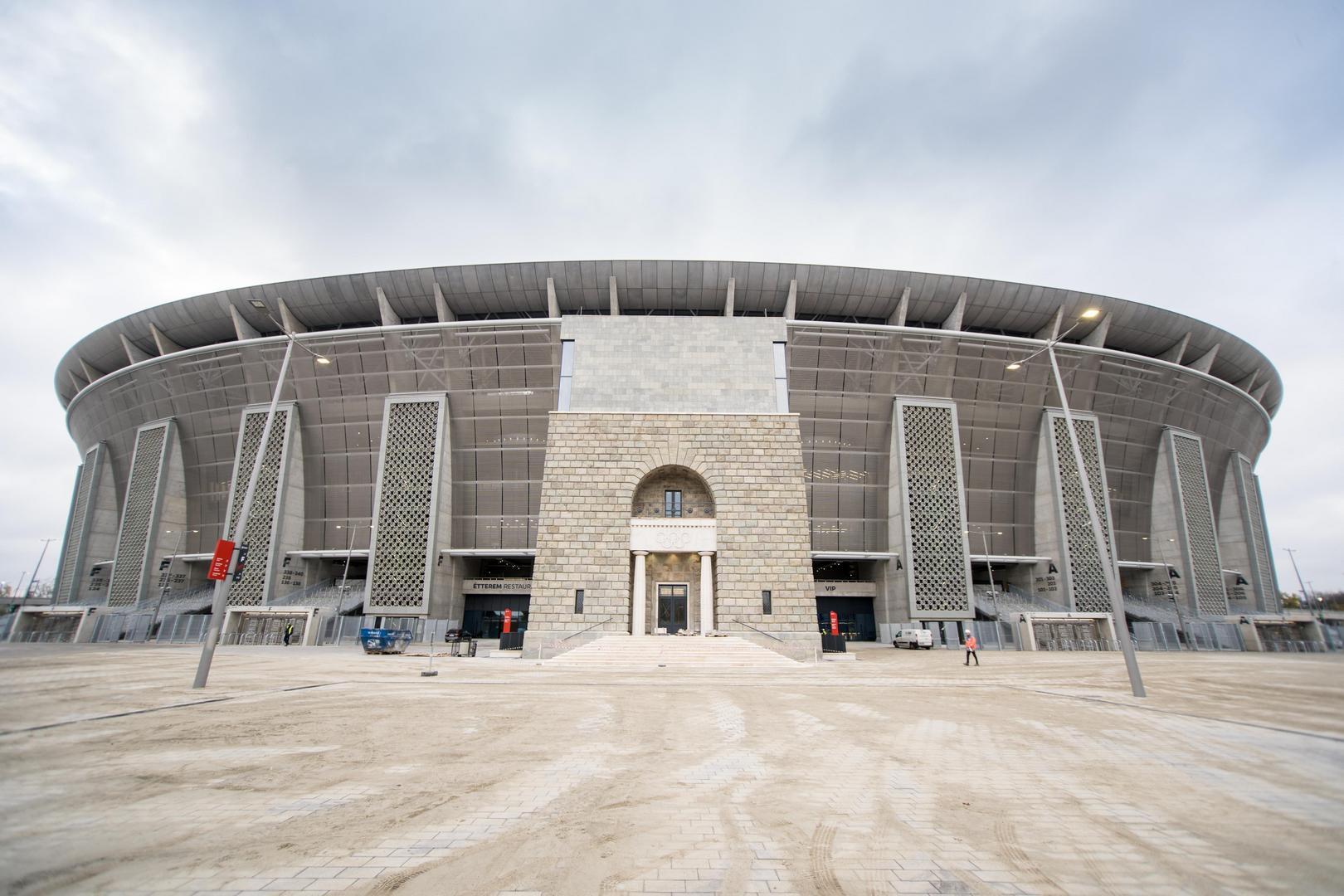 A Puskás Aréna épülete