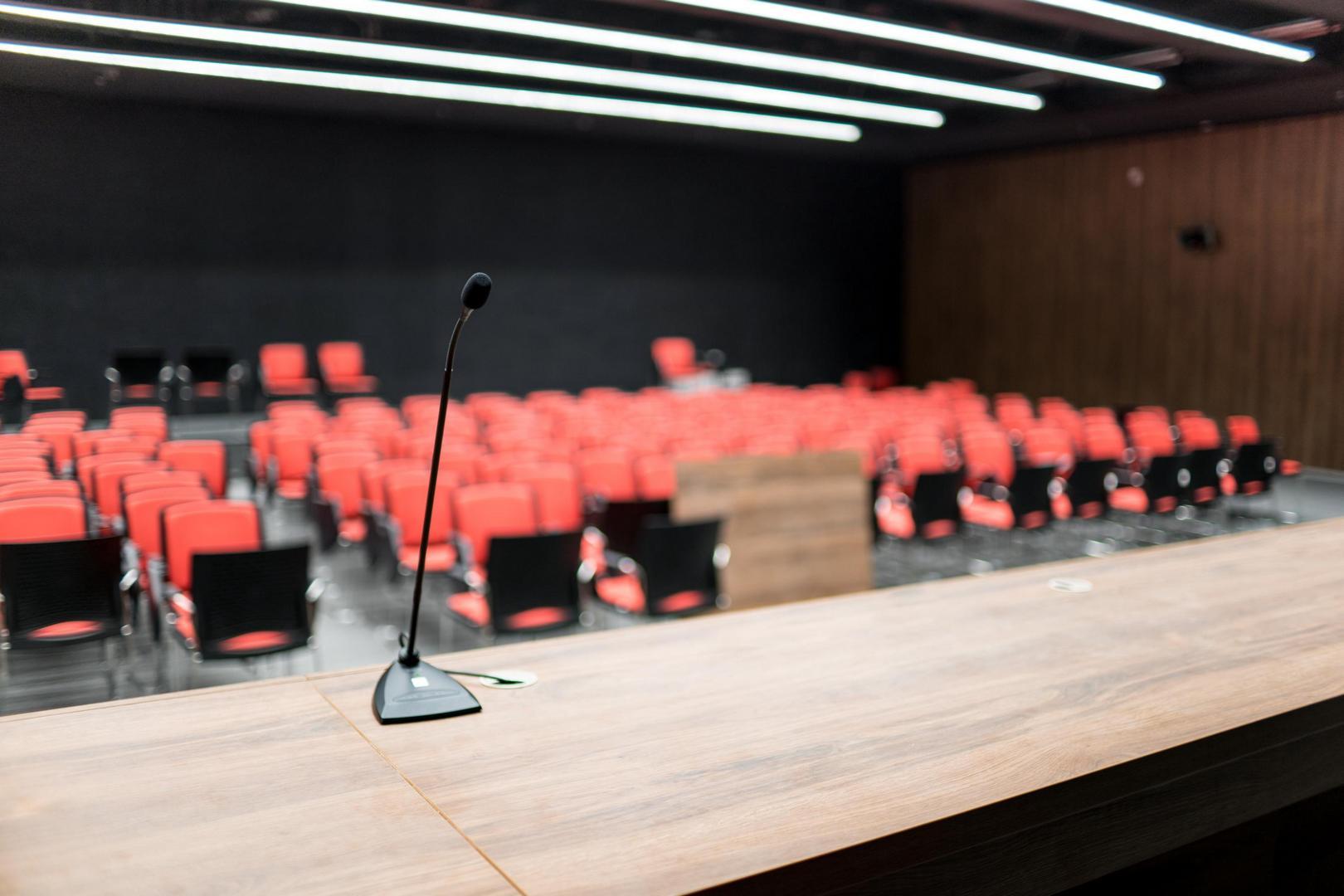 A Puskás Aréna konferenciaterme