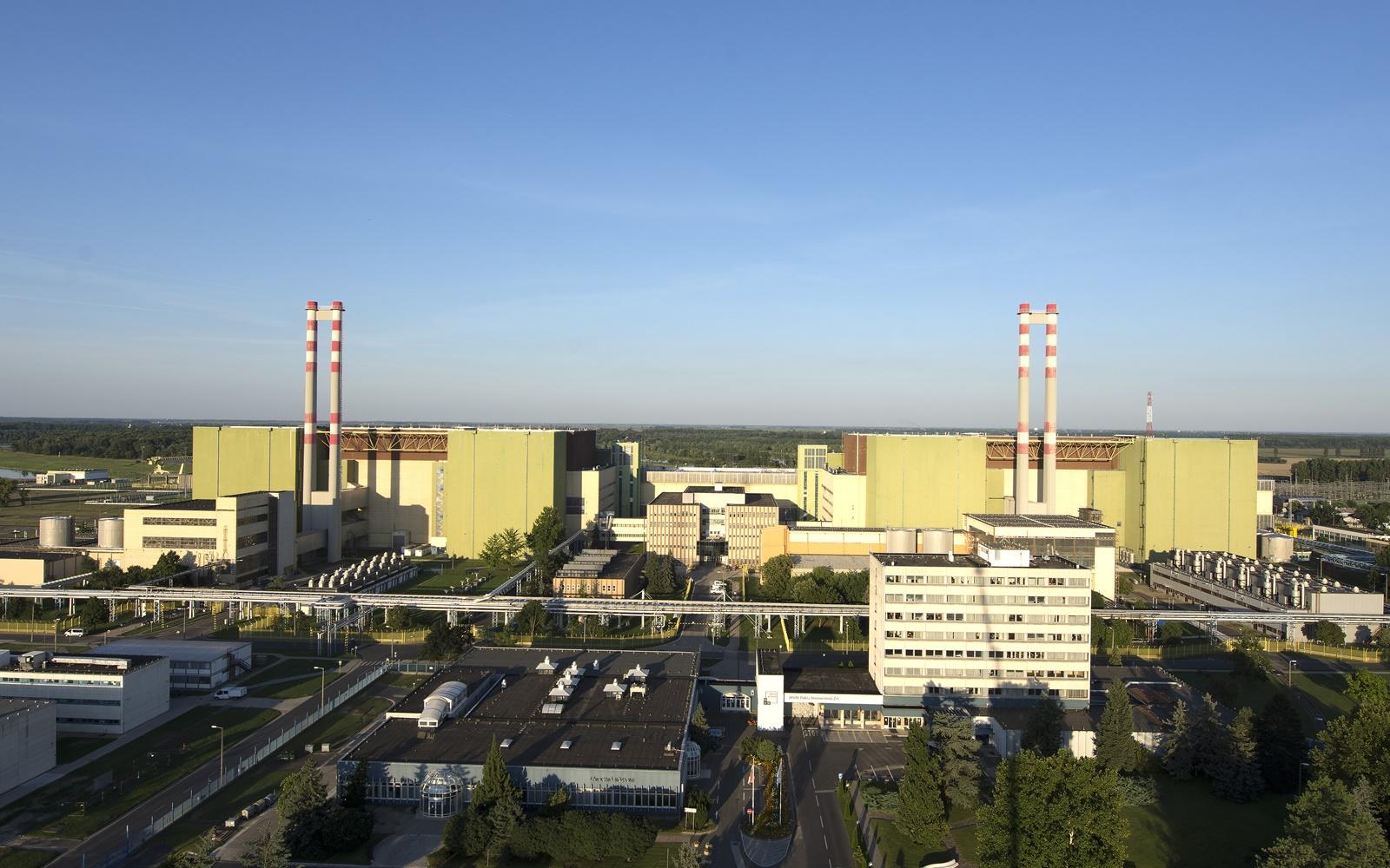 A Paksi Atomerőmű épületegyüttese