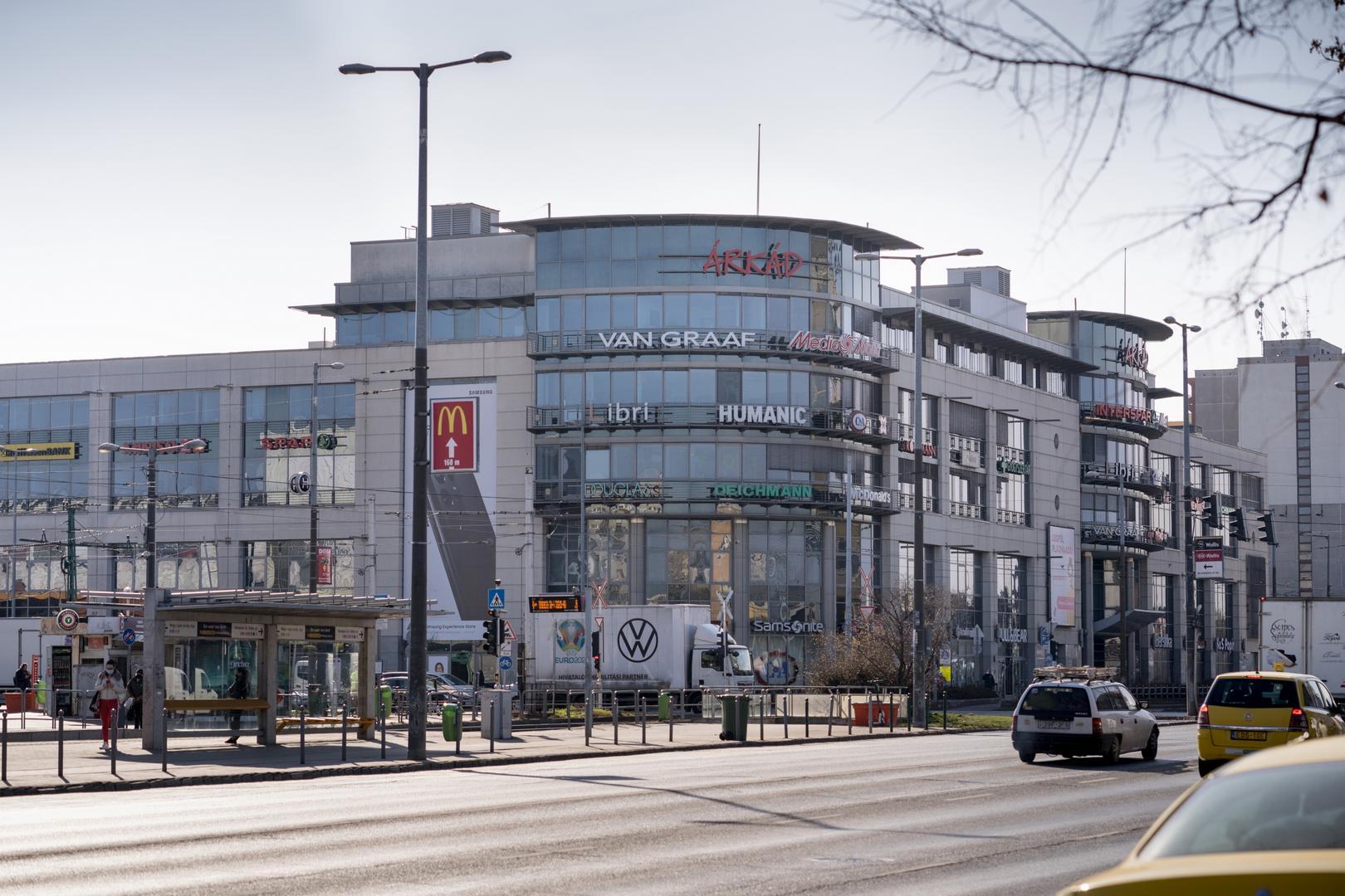 Árkád Bevásárlóközpont épülete