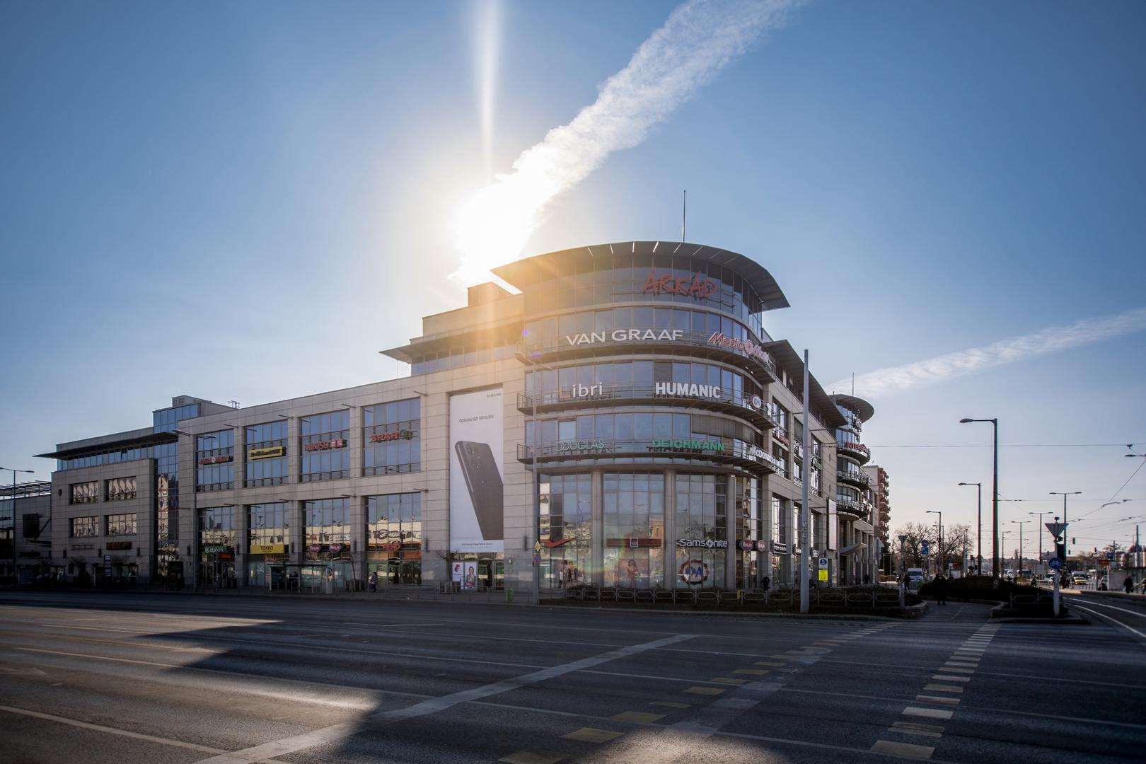 Árkád Bevásárlóközpont Budapesten