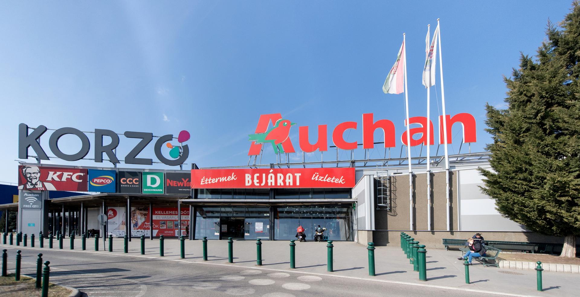 Auchan Bevásárlóközpont Budapesten