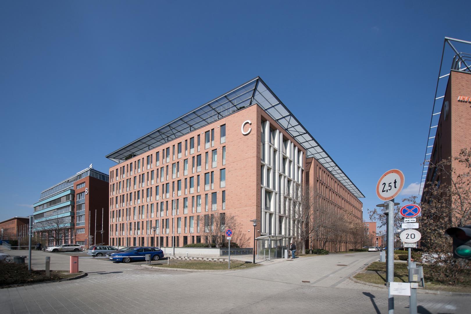 Infopark épületei