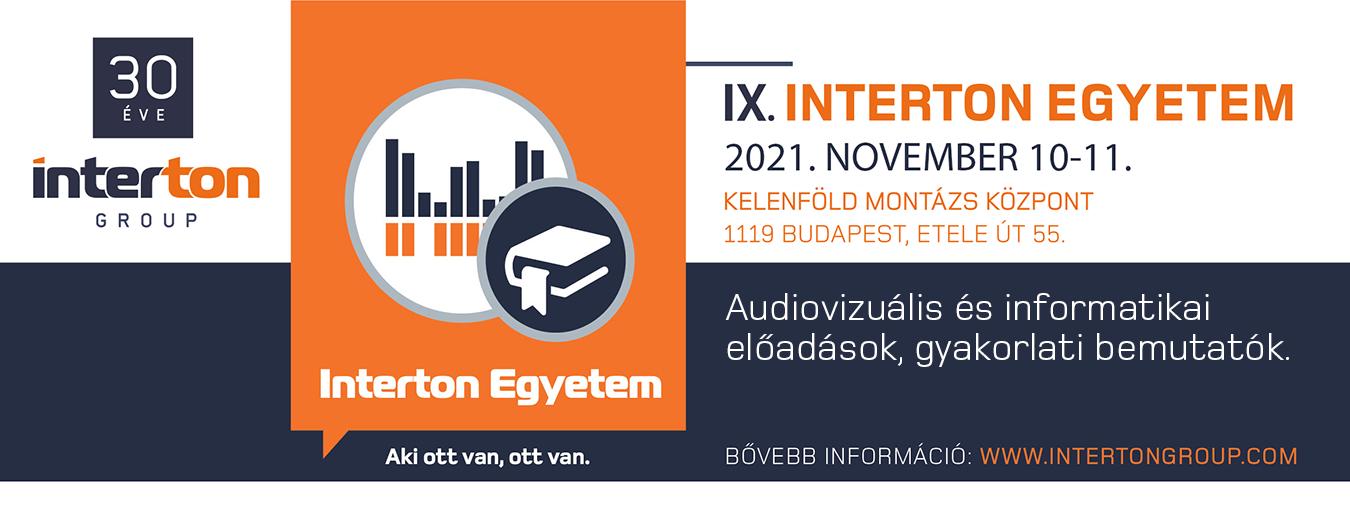 IX. INTERTON Egyetem regisztráció